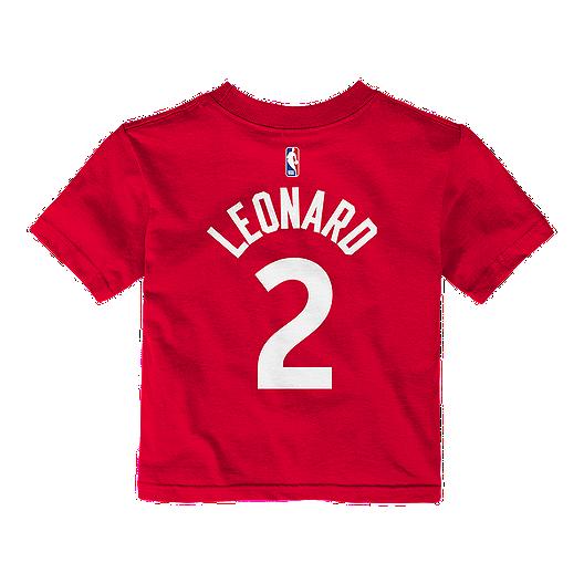 01e2ce684fa6 Toronto Raptors Infant Kawhi Leonard Short Sleeve Player T-Shirt ...