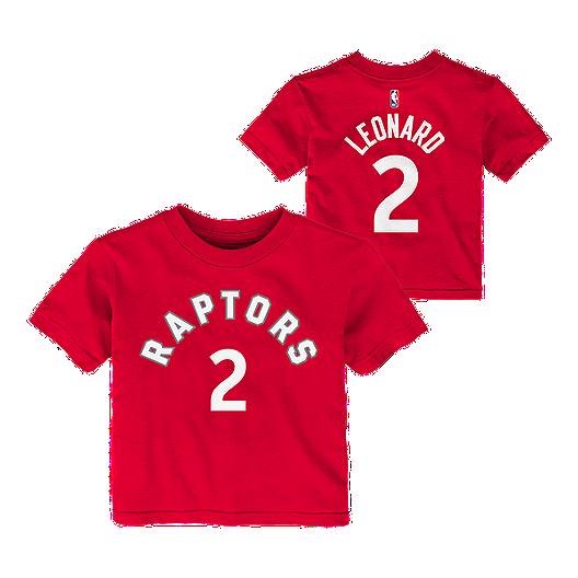 huge selection of 7d6e8 26a42 Toronto Raptors Infant Kawhi Leonard Short Sleeve Player T ...