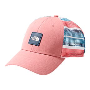 75feb501 The North Face Women's Mudder Mesh Trucker Hat - Spiced Coral