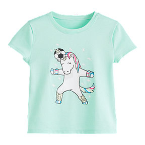 Under Armour Toddler Girls' Unicorn Header Short Sleeve