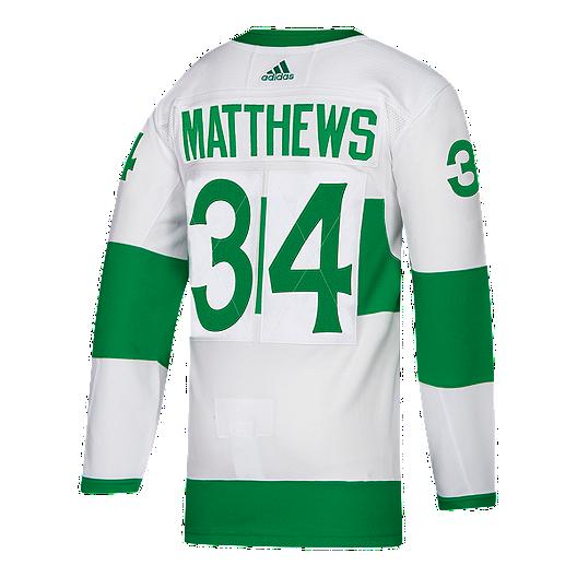 956aacb35 St. Pats adidas Authentic Auston Matthews Jersey   Sport Chek