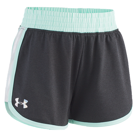 2cc6dace6e8 Under Armour Girls  4-6X Record Breaker Iridescent Short