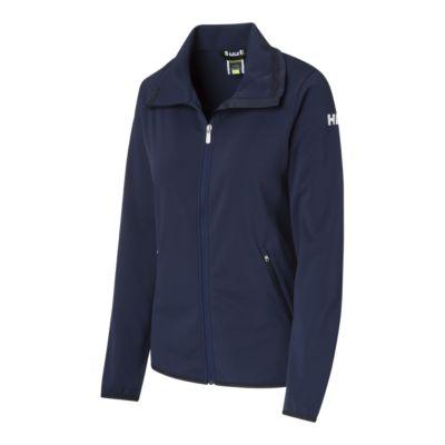Evening Blue Stripe Helly Hansen Womens Naiad Fleece Jacket X-Large