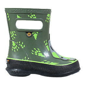 Bogs Boy Toddler Skipper Animal Rain Boots - Dino Green