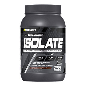 C4 Cellucor Cor Isolate Protein - Fudge Brownie - 902g Powder - 28 Servings