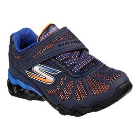the best attitude 6f594 19710 Skechers Toddler Lil Hydro Static Shoes - Navy Orange