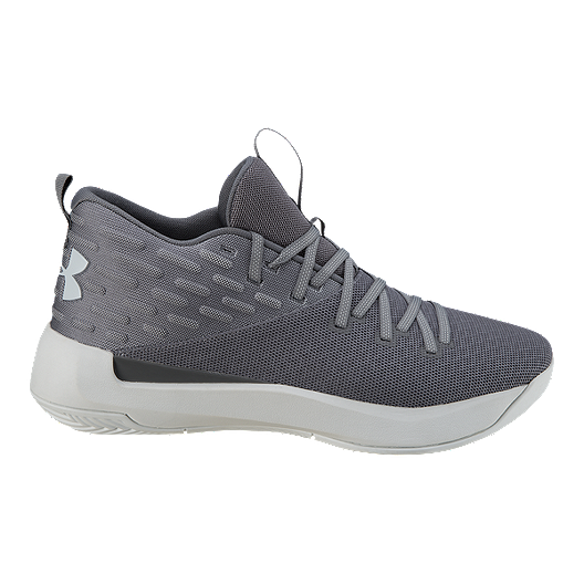 new concept 15bba a45e6 Under Armour Men s Lightning 5 TB Basketball Shoes - Grey   Sport Chek