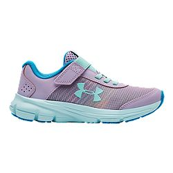 b0aa3a43e47f31 image of Under Armour Girls' Rave 2 NP AC Pre-School Shoes - Purple