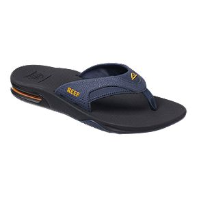 33fe02760f49 Reef Men s Fanning Sandals - Navy Yellow
