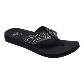 57797ca4e3ccb5 Reef Women s Spring Sandals - Woven Black