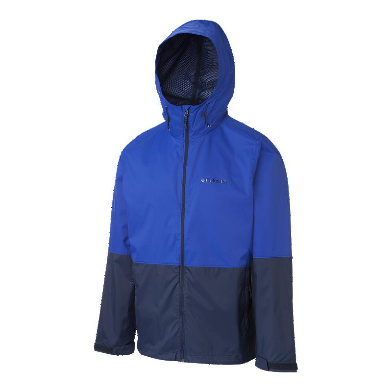Columbia Mens Roan Mountain Jacket Waterproof Hooded