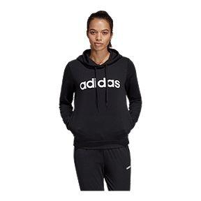 7217e75123fd adidas Women s Essentials Linear Pullover Hoodie