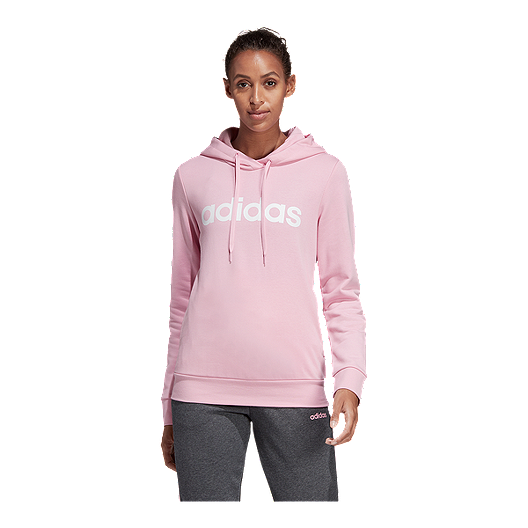 adidas Women's Essentials Linear Pullover Hoodie