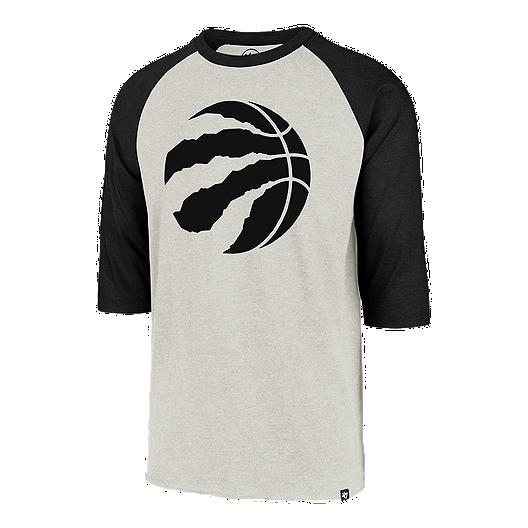 6ffed2dc Toronto Raptors Men's '47 Brand Imprint Club Raglan 3/4 Tee
