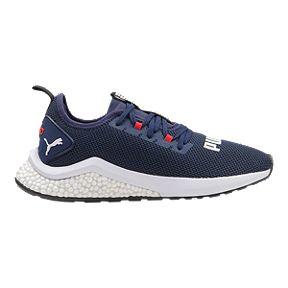 9dce683e9e71 PUMA Boys  Hybrid NX Grade School Shoes - Peacoat High Risk Red White