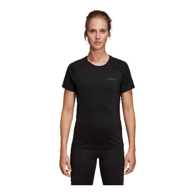 60aa2bba4834 adidas Women s Design 2 Move 3 Stripe T Shirt
