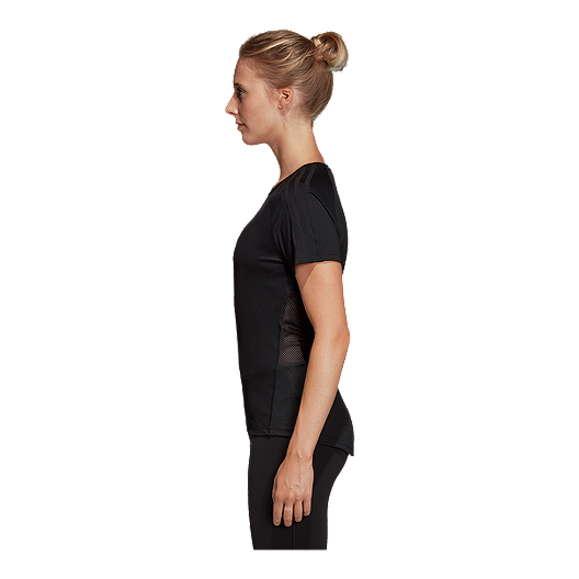 45d45ac28e2c4 adidas Women's Design 2 Move 3 Stripe T Shirt