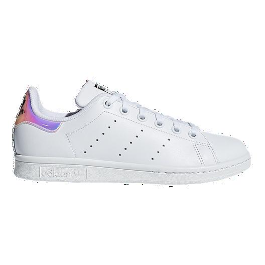 buy popular c9db5 dfb4e adidas Girls' OG Stan Smith Grade School Shoes - White/Metallic Silver
