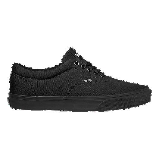 82453f9fde8df0 Vans Men s Doheny Canvas Shoes - Black