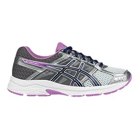 premium selection 60e26 c3134 ASICS Womens Gel Contend 4 Training Shoes - SilverPink