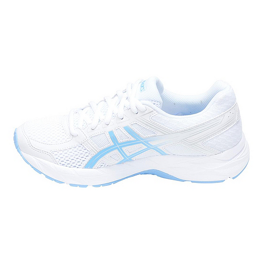 2be12b21 ASICS Women's Gel Contend 4 Training Shoes - White/Blue