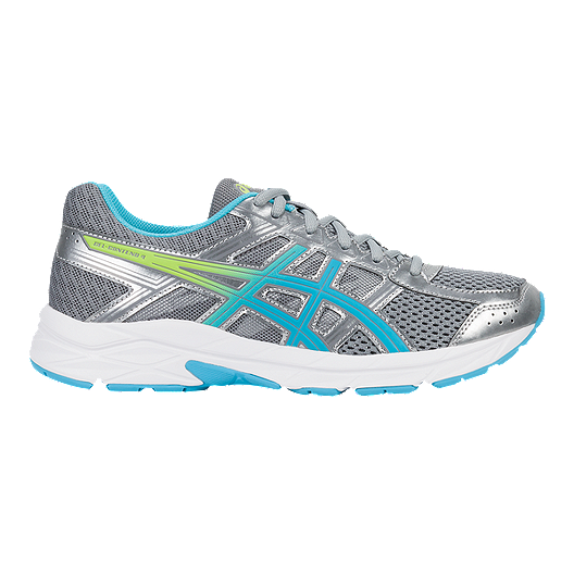 c1df488f ASICS Women's Gel Contend 4 Training Shoes - Silver/Blue