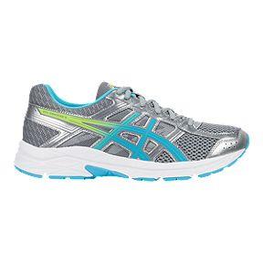 956439ddca2 ASICS Women s Gel Contend 4 Training Shoes - Silver Blue