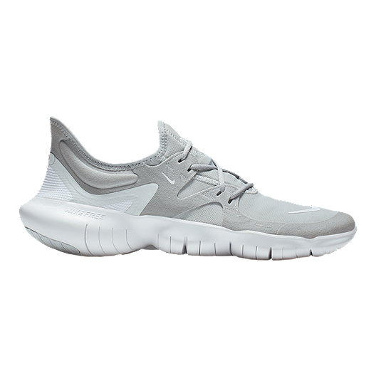 low priced e78a5 c350a Nike Men's Free RN 5.0 Running Shoes - Grey/White