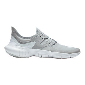 02193b15b459b Nike Men s Free RN 5.0 Running Shoes - Grey White