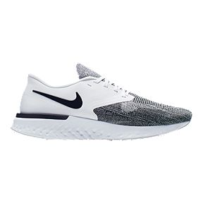 best sneakers c5ad8 cf7e2 Nike Men s Odyssey React 2 Running Shoes - White Black