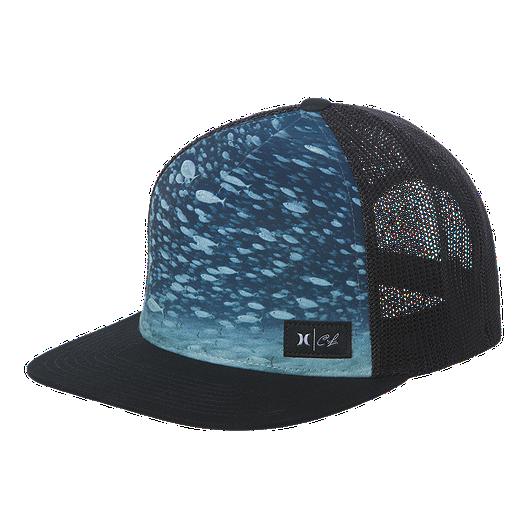 8e2370430a96f Hurley Men s Clark Little Underwater Snapback Hat
