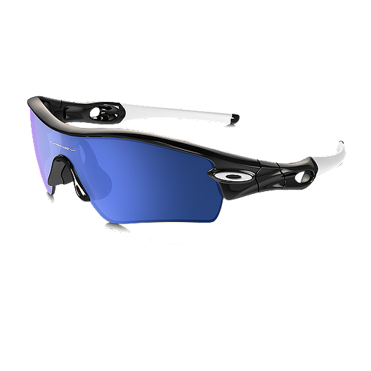 8be50e268cbca Oakley MPH Radar Path Sunglasses - Polished Black with Ice Iridium Lenses