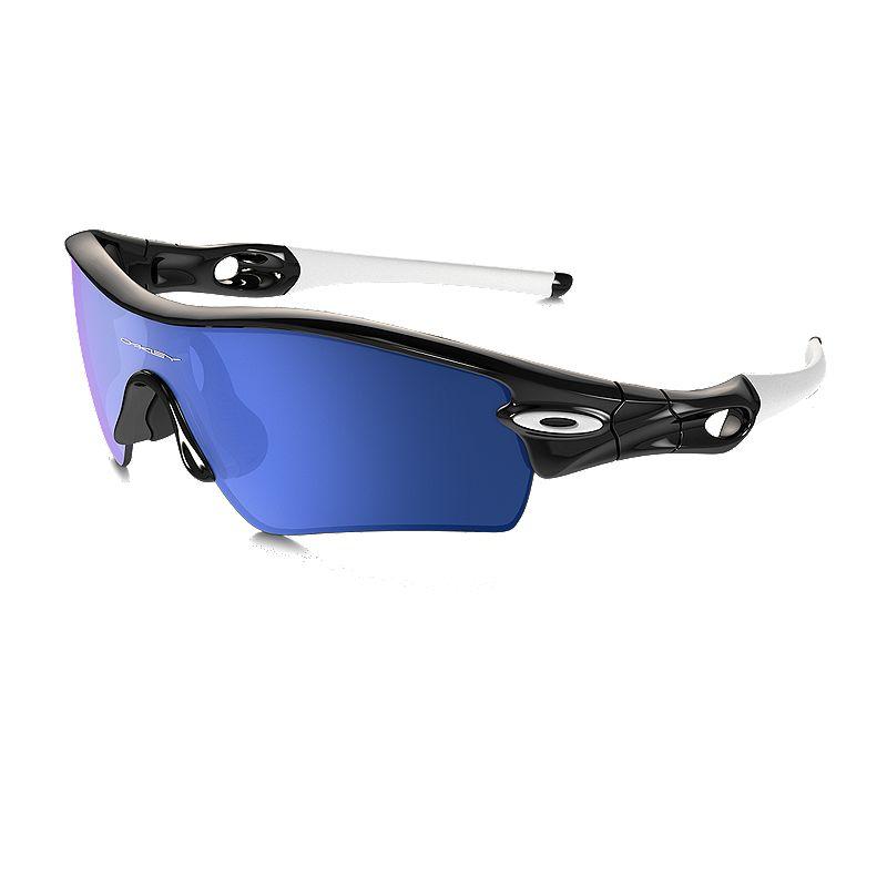 e5d9a55d4e430 Oakley MPH Radar Path Sunglasses - Polished Black with Ice Iridium Lenses  (888392335777) photo