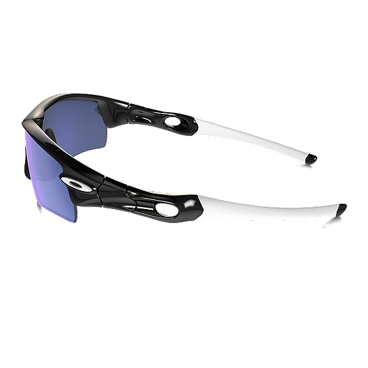 fa24714fa37c4 Oakley MPH Radar Path Sunglasses - Polished Black with Ice Iridium Lenses.  (0). View Description