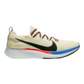 Nike Men's Zoom Fly FK LT Running Shoes - Cream/Black/Red