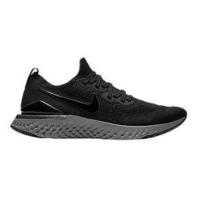 399cfb3d3d004 Nike Men s Epic React 2 Flyknit Running Shoes - Black White