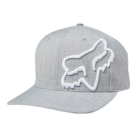 adbff654b17db Fox Clouded Flexfit Hat - Grey