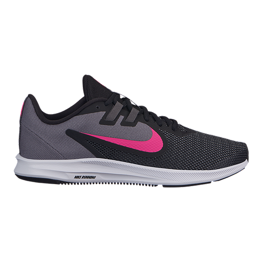 c0912c4ac48ac Nike Women s Downshifter 9 Running Shoes - Black White