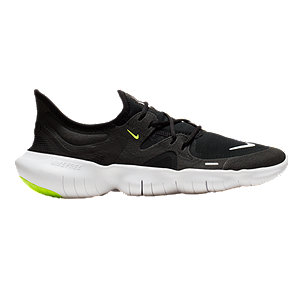 Nike Women's Free RN 5.0 Running Shoes - Black/White
