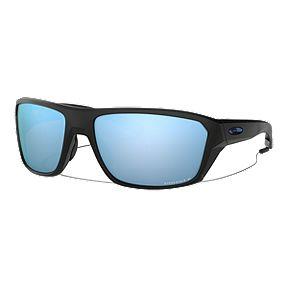 79cff8ad205b Oakley Split Shot Sunglasses - Black with Prizm Deep Water Polarized Lenses