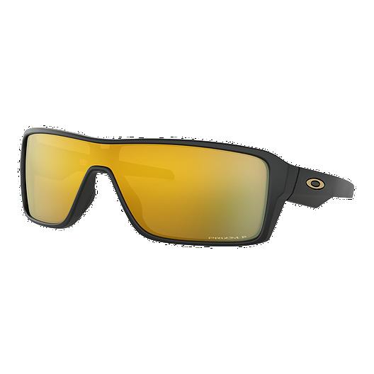 acaac71022296 Oakley Ridgeline Sunglasses - Black with Prizm 24K Iridium Polarized Lenses