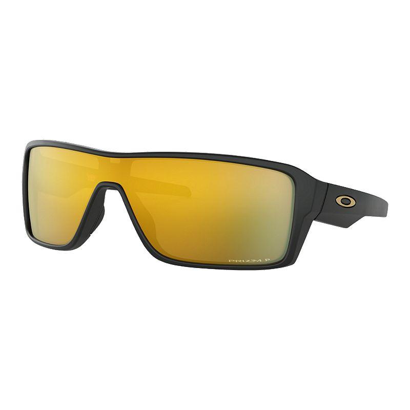 05c4cfb718951 Oakley Ridgeline Sunglasses - Black with Prizm 24K Iridium Polarized Lenses  (888392377197) photo