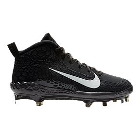 da2b43a939c Nike Men s Force Trout 5 Pro Steel Baseball Cleats- Black White