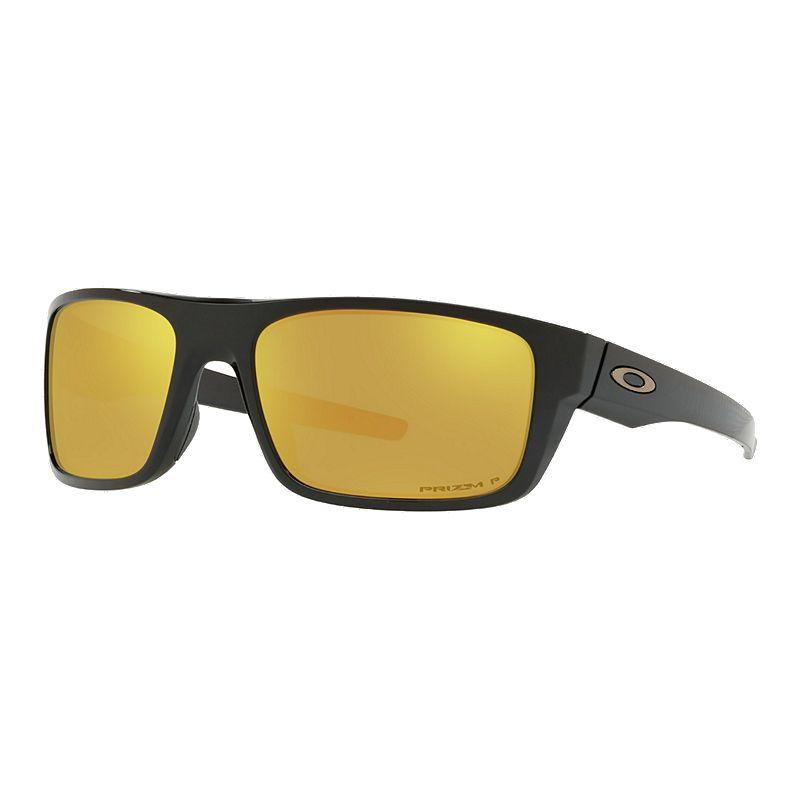 6c7a43db48701 Oakley Drop Point Midnight Sunglasses - Black with Prizm 24K Iridium  Polarized Lenses (888392358455)