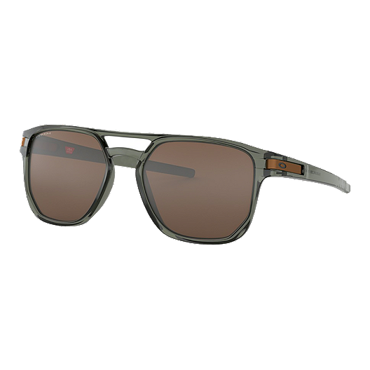 6fd443a355de Oakley Latch Beta Sunglasses - Olive Ink with Prizm Tungsten Iridium Lenses