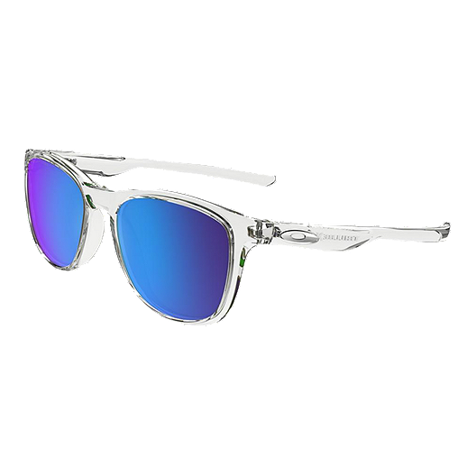 a35774e072 Oakley Trillbe X Sunglasses - Polished Clear with Prizm Sapphire Iridium  Lenses