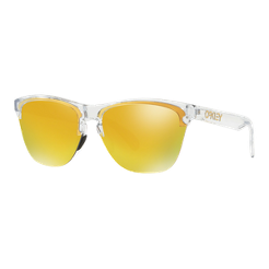 93054e8b1df Oakley Frogskins Lite Sunglasses - Polished Clear with 24K Iridium Lenses