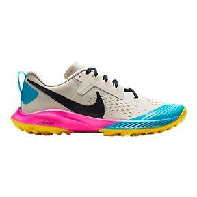 52f12421cabc Nike Women s Air Zoom Terra Kiger 5 Running Shoes - Brown Black Pink