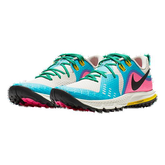 7efd28010 Nike Women's Air Zoom Wildhorse 5 Running Shoes - Brown/Black/Blue