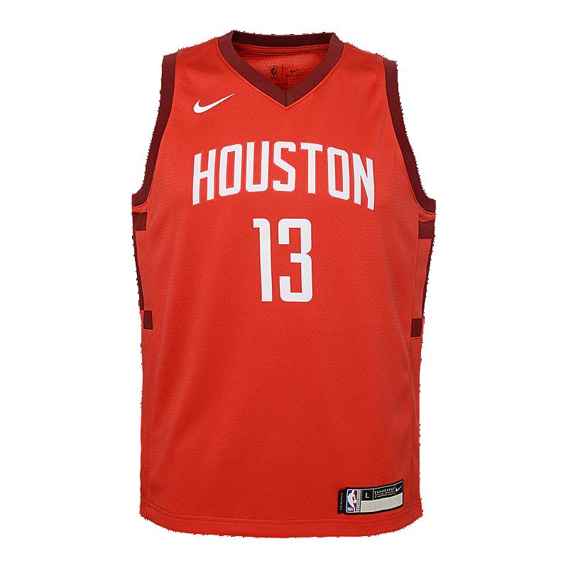 online store a58e8 fc622 Youth Houston Rockets City Edition Harden Swingman Flip Jersey